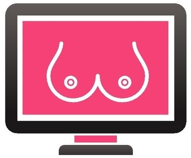 adult content on laptop