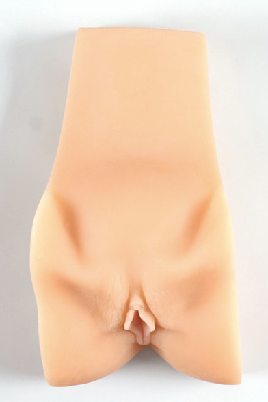 Silicone vagina with realistic detailing