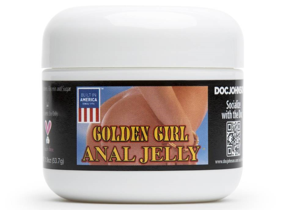 tub of anal jelly