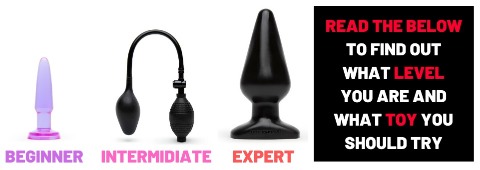 different butt plugs