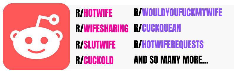 different cuckold and hotwife reddits
