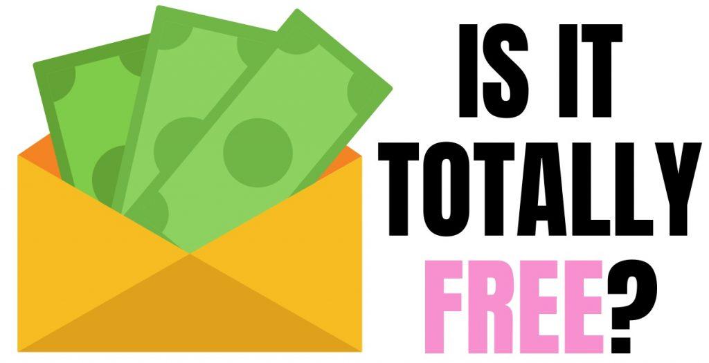dollar bills inside a envelope