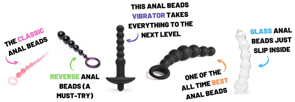 different types of anal beads
