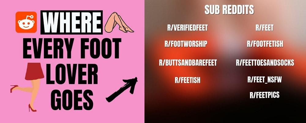 list of foot fetish sub-reddits
